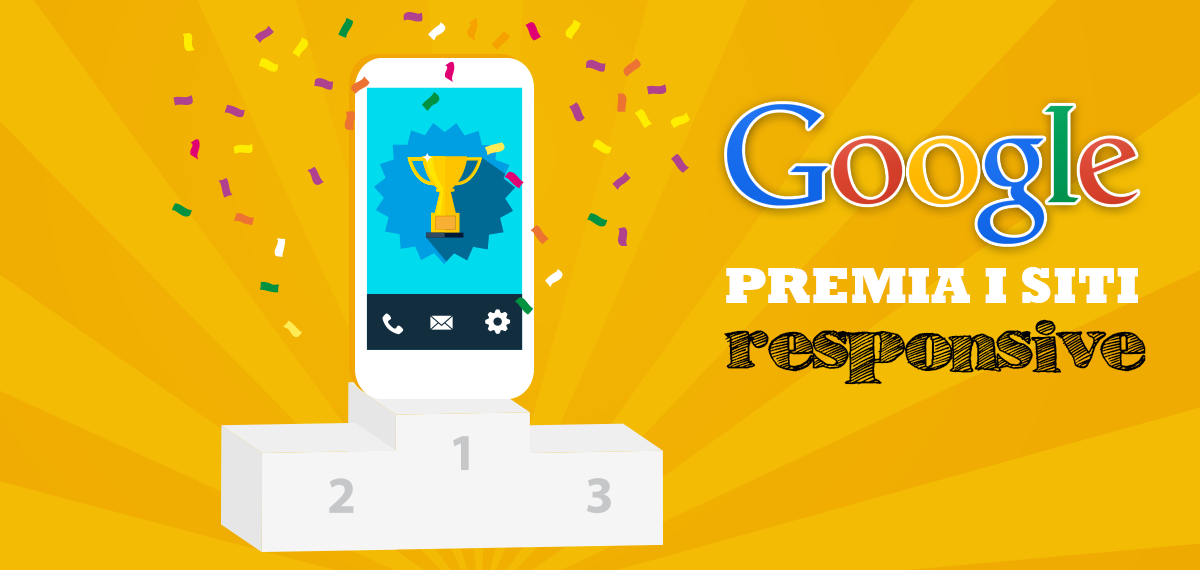 Google Premia si siti responsive