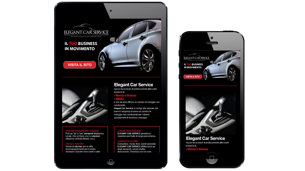 Newsletter Elegant Car Service
