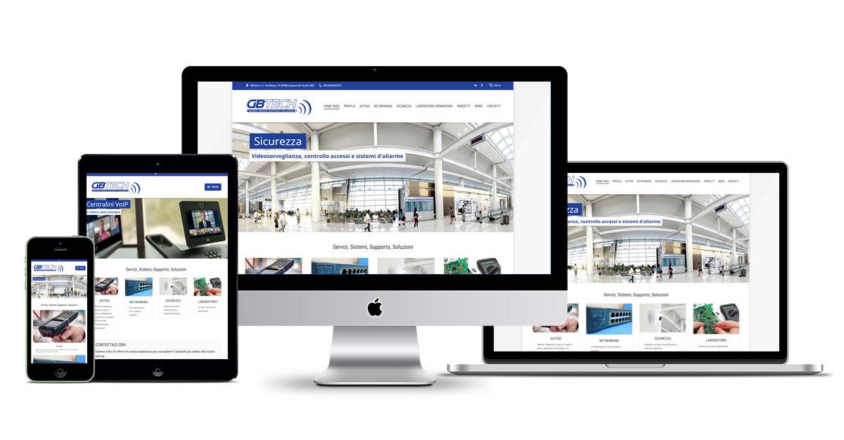 GB Tech sito
