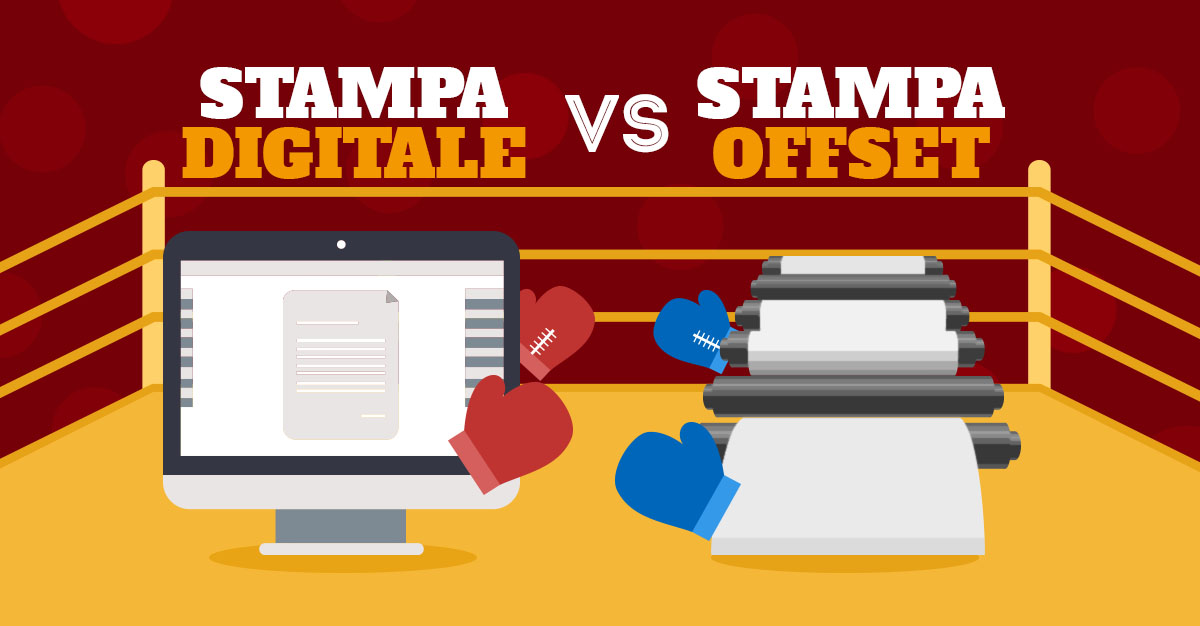 Stampa digitale vs Stampa offset