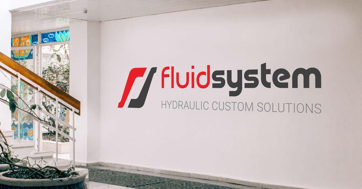 Fluid System Logo