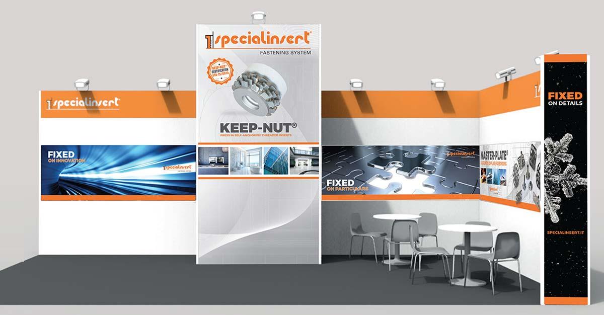 progettazione stand Specialinsert
