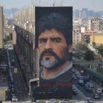 Napoli Diego Maradona murales