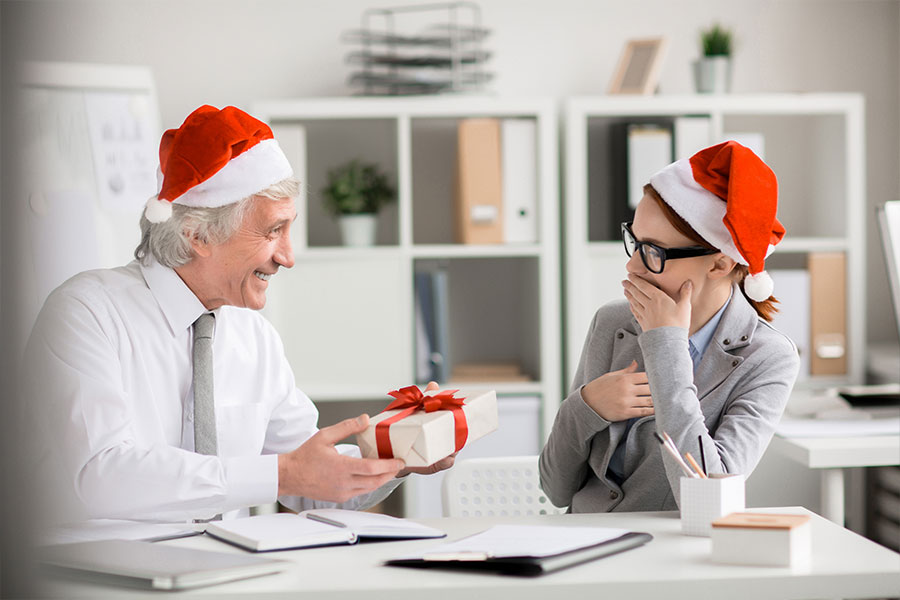 """Vestiti"" da Babbo Natale"