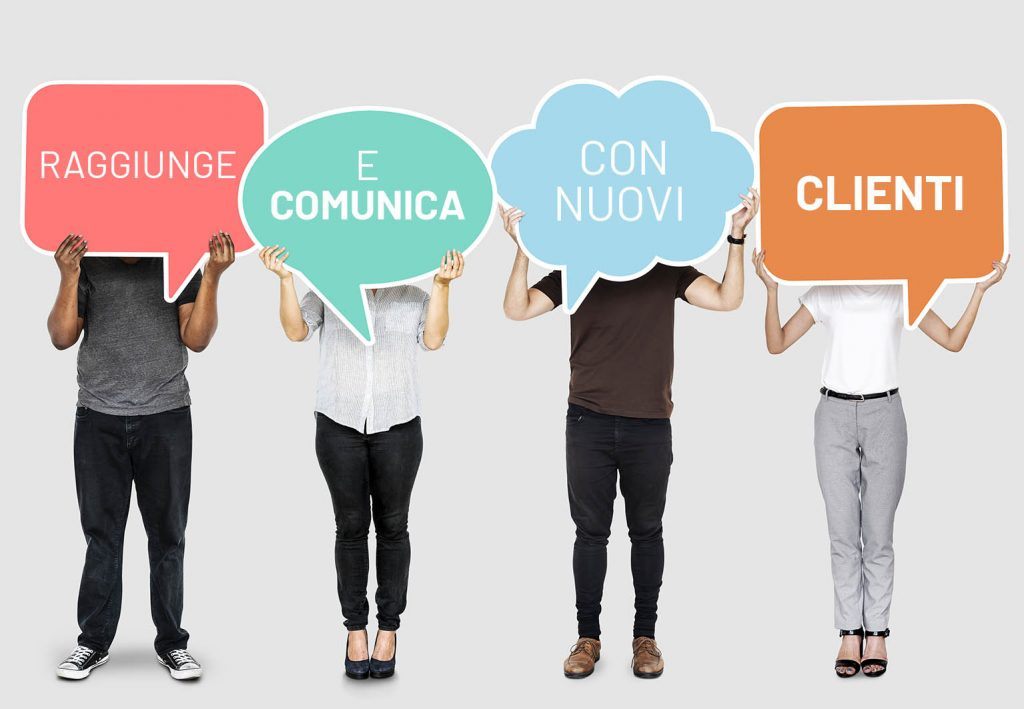 4 Raggiunge e comunica con nuovi clienti