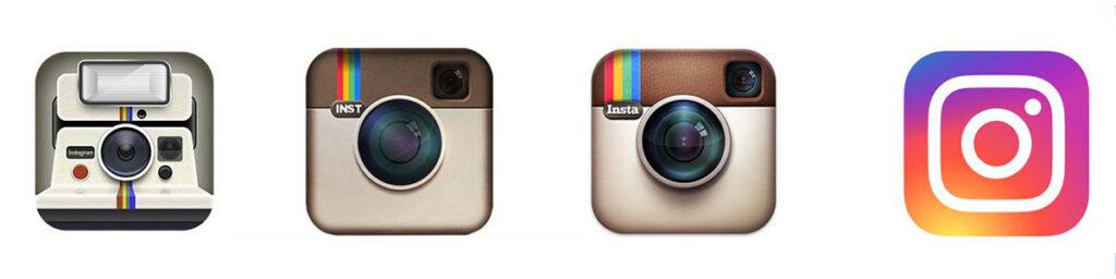 Instagram storia del logo