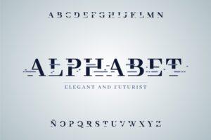 Abstract minimal alphabet