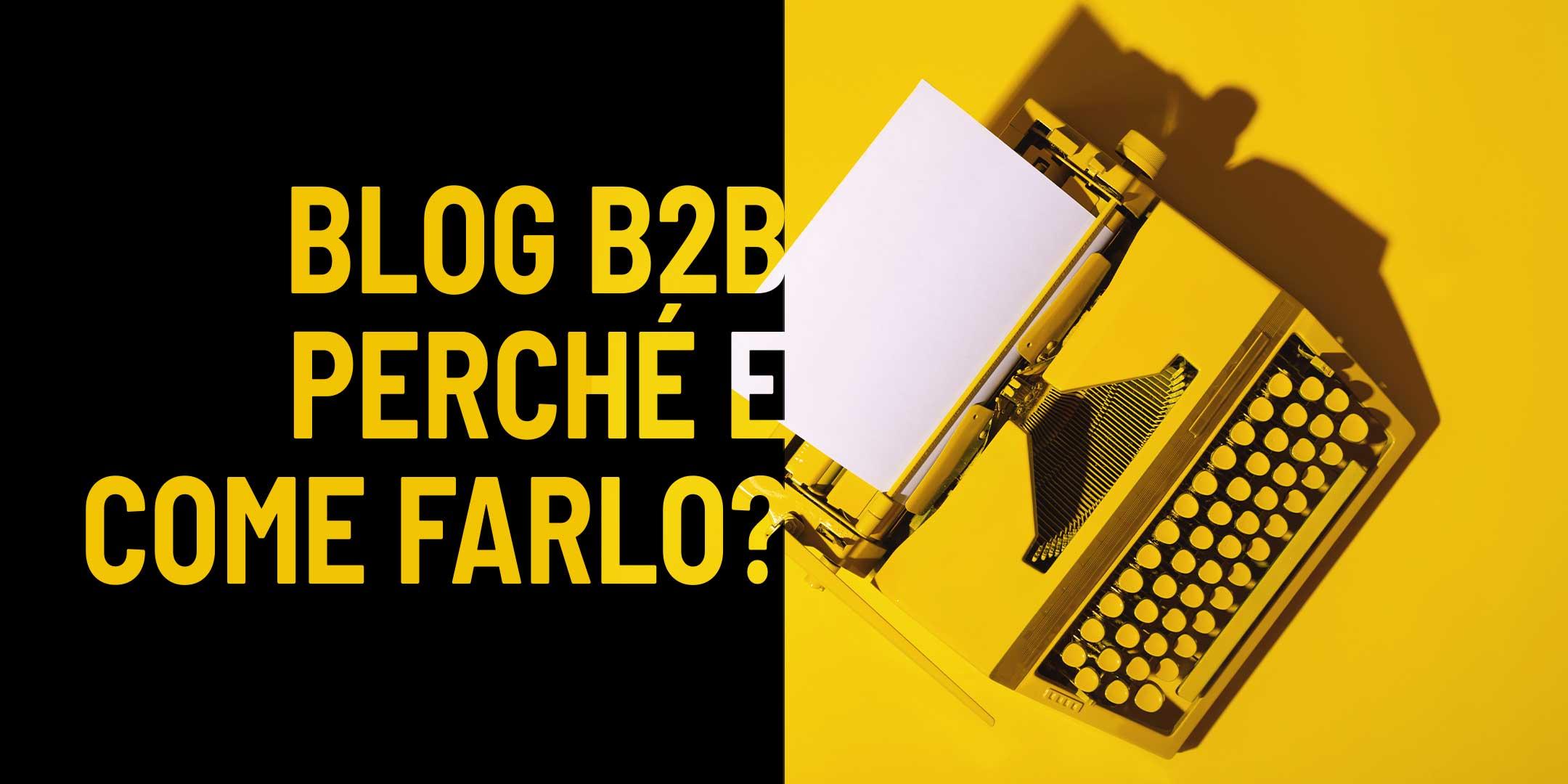 blog B2B